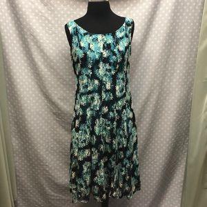 Floral Slip On Dress